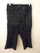 Vintage Mona of Hollywood Los Angeles Black Women's Lacy Pantaloons Petti Pants