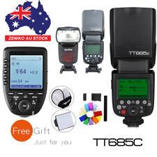 AU Godox 3X TT685C 2.4G Flash Speedlite + XPro-C Trigger For Canon EOS Cameras