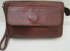 -AUTHENTIQUE  sac pochette TEXIER   cuir  TBEG   bag vintage