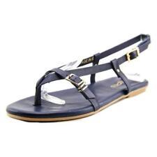 Sandalias y chanclas de mujer de color principal azul de piel talla 37