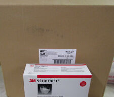 CASE OF 240 NEW 3M 9210/37021 PARTICULATE RESPIRATOR N95  MASKS FILTERS MERS