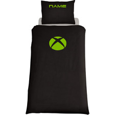 XBOX THEMED DUVET COVER & PILLOWS BEDDING SET PERSONALISED WITH NAME OR GAMETAG