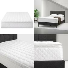 """10""""Pillow Top Spring MATTRESS Extra Firm Queen Bedroom Dream Comfort Sleeper Bed"""