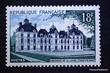 TIMBRE  NEUF ** FRANCE 1954 CHATEAU DE CHEVERNY YVERT 980 MNH