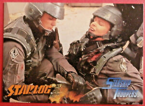 "STARSHIP TROOPERS - ""Starlog"" PROMO Card - Inkworks 1997"