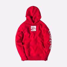 KITH X COCA-COLA COKE ENJOY HOODIE RED Size XL HOODIE Cherries Polar Bear