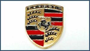 Original Porsche Schlüsselanhänger Ersatz farbiges Wappen kleines Emblem...