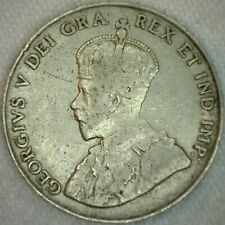 1926 Canada 5c Nickel Coin Five Cents Canadian VG Very Good K35
