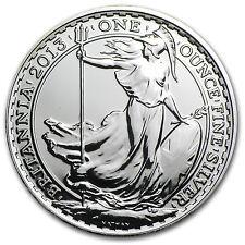 2013 1 oz Lunar Silver Britannia Year of the Snake (Spotted) - SKU #80292