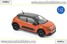 PROMO Citroën C3 2016 Power Orange with black roof  NOREV - NO 155266 - Ech 1/43