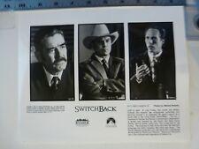 "Vintage Glossy Press Photo Lee Ermey Ted Levine Will Fichtner ""Switchback"" 1997"