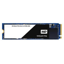 WD Black NVMe SSD M.2 2280 Form Factor PCIe Gen3 Interface 512GB 5 Year Warranty