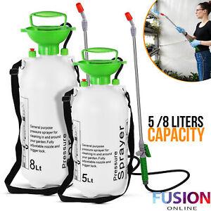 Garden Pressure Sprayer Portable Water Spray Chemical Bottle Weed Killer Pump