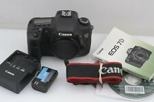 EXC++ CANON EOS 7D 18MP DSLR BODY, BATT, CHARGER, STRAP, ONLY 5610K ACTS! NICE