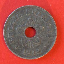 Belgique - Albert Ier - Pres de Superbe 50 Centimes 1918:- Occupation Allemande