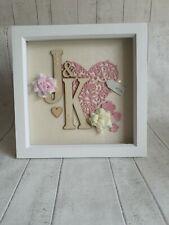 Wedding anniversary gift / wedding, valentines, framed gift
