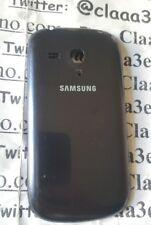 Samsung GT-i8200 Galaxy S III 3 scocca retro chiusura nera copri batt ORIGINALE