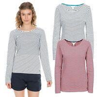 Trespass Womens Long Sleeve Tshirt Summer Top Casual Look Moomba