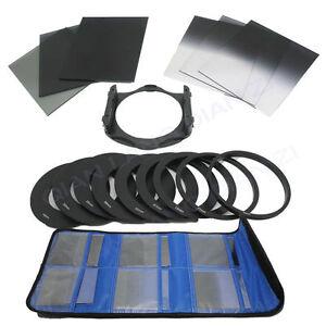 6pcs Graduated Neutral Density ND 2 4 8 Lens Filter Kit Set for Cokin P Series