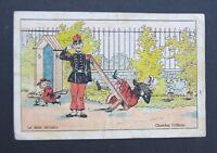 Chromo DEVINNETTE JEU Chicorée Savoureuse Militaire victorian card scrapbook