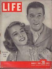 LIFE March 7,1949 Television Revue Team / Churchill Memoirs Vol2 Pt5 / Indo-Chin