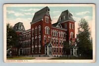 Batavia NY, High School, New York Vintage Postcard