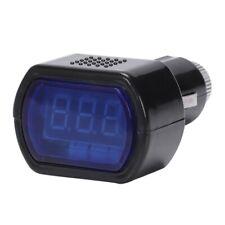 Accendino LCD Voltaggio Digitale Pannello Voltmetro Misuratore Volt PER AUTO Z9T7