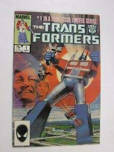 Marvel Transformers #1 Origin and 1st Appearance 1984 1st Print Comic