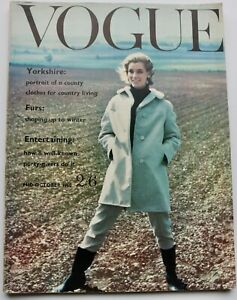 1960 vintage Vogue magazine Yorkshire Storm Jameson Grace Coddington Mary Quant