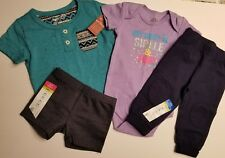 Baby Girl's 4-Piece Clothing Set, Size 6 Mo., NWT - Gift Ready