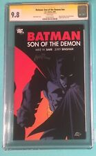 BATMAN: SON OF THE DEMON CGC 9.8 SS - signed Mike Barr - 1st Damian Wayne/Robin