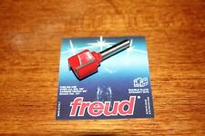 """Freud 7/8"""" (Dia.) Double Flute Straight Bit with 1/4"""" Shank (04-148)"""