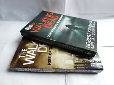 2 x Walking Dead TV novels 1 Rise Of The Governor & 2 Road To Woodbury PB     D3