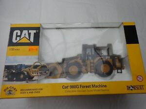 Norscot 1/50 - Caterpillar Cat 980G Foresta Macchina - Riferimento 55060
