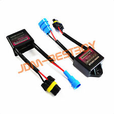 2 pcs HID FLICKER ERROR WARNING CANCELLER CANBUS CAPACITORS COMPUTER DECODER
