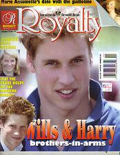 PRINCE WILLIAM HARRY UK Royalty Magazine Vol 18 No 11 MARIE ANTOINETTE