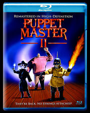 Puppet Master II: They're Back, No Strings Attached Blu-ray, Full Moon Features