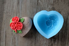 Valentine's Day Diy Cake Decoration Soap Mold Silicone Mold Chocolate Soap Mould