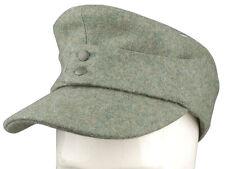WWII GERMAN WH OFFICER M43 PANZER WOOL FIELD CAP XL-33932