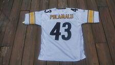 Pittsburgh Steelers Troy Polamalu Adult Size 48 SEWN Jersey by Reebok