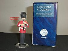 CORGI F07251 ICON SCOTS GUARDS BAND CLARINET PLAYER METAL TOY SOLDIER FIGURE