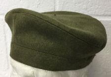 KHAKI GREEN SCOTTISH PLAIN TAM O SHANTER BONNET - 61cm , British Army Issue