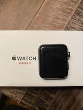 Apple Watch Series 3 42mm Aluminum Case Black (GPS + Cellular) Watch