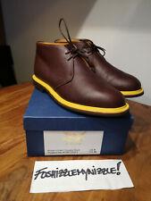 Mark McNairy New Amsterdam Pebble Grain Chukka Boots HANDMADE IN ENGLAND Sanders