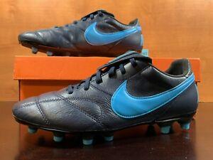 The Nike Premier II FG Mens Size 8.5 Obsidian Blue Soccer Cleats 917803-440 RARE