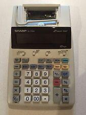 Sharp EL-1750C 2 Color 12 Digit Desktop Printing Calculator