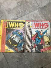 Who's Who in the DC Universe #1 & 5 (1990, DC) - New/Sealed MAKE OFFER!