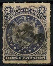 Bolivia 1887 SG#47, 2c Slate-Violet Used #D35239