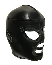 BLACK SHADOW (pro-fit) Adult Lucha Libre Mexican Wrestling Mask - Black