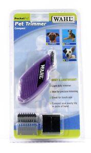 WAHL Grooming Pocket Pro Mini Cordless Pet Trimmer/Clipper Kit Set ~ Brand New